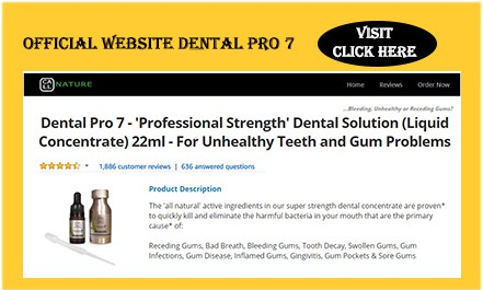 Instructions Dental Pro 7 Kamloops