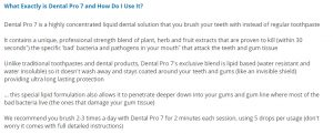 Dental Pro 7 Reviews - The Best Oral Problems Solution