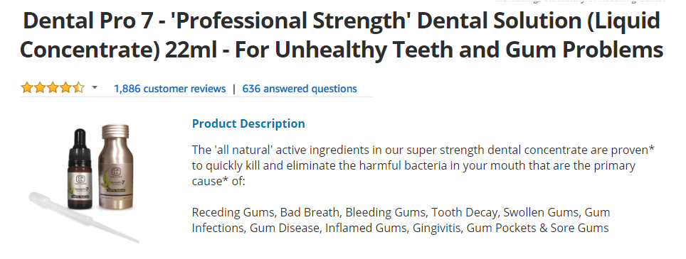 Dental Pro 7 Reviews Burns