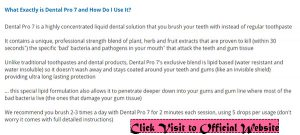 How To Dental Pro 7 - How to use Dental Pro 7